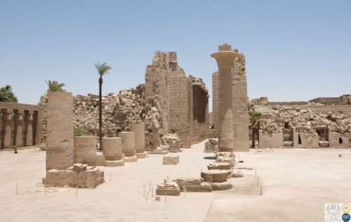 Kiosque de Taharqa - temple de Karnak