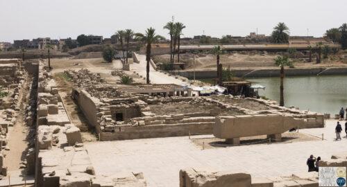 Edifice de Taharqa - Temple de Karnak