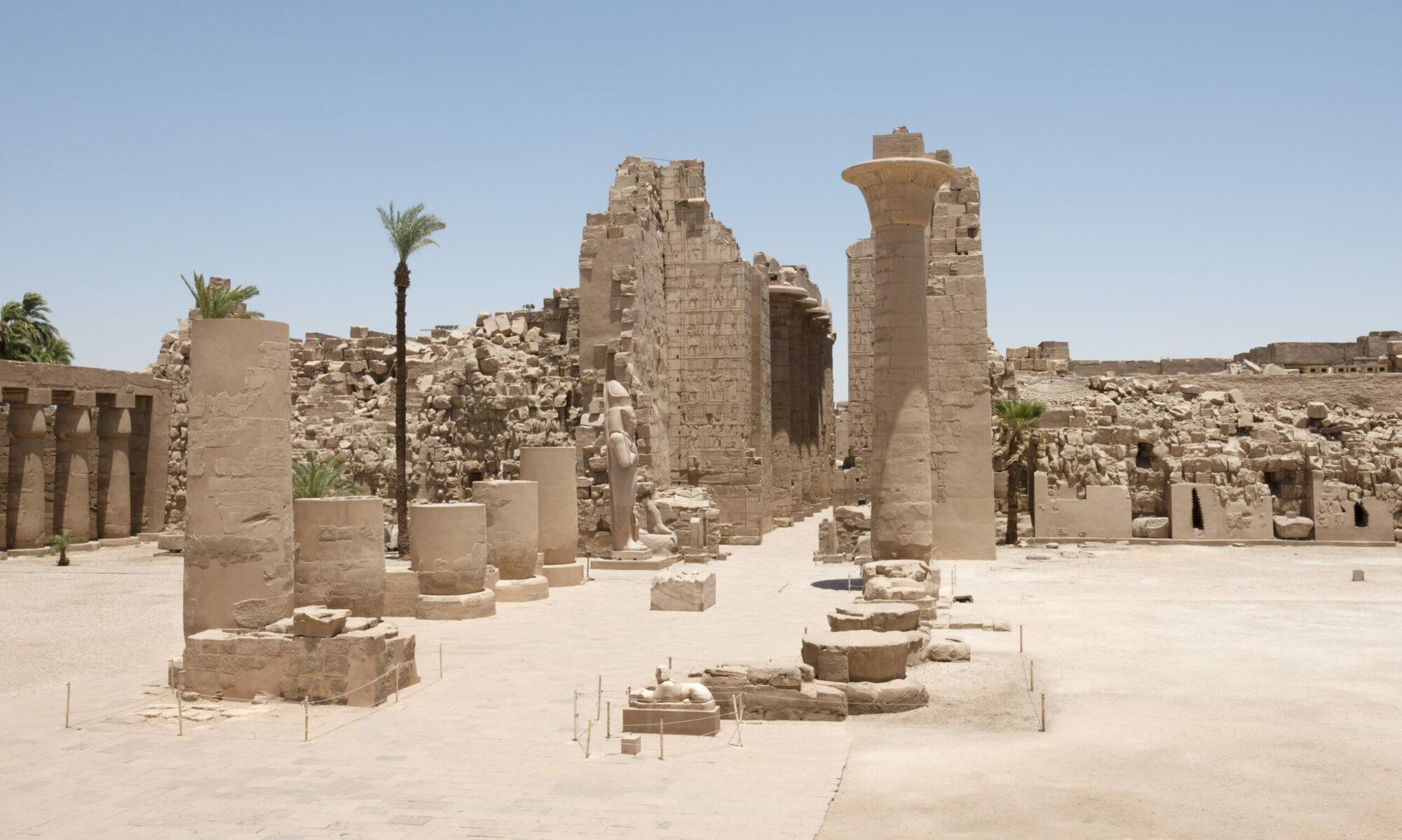 Karnak, un domaine kouchite en Égypte